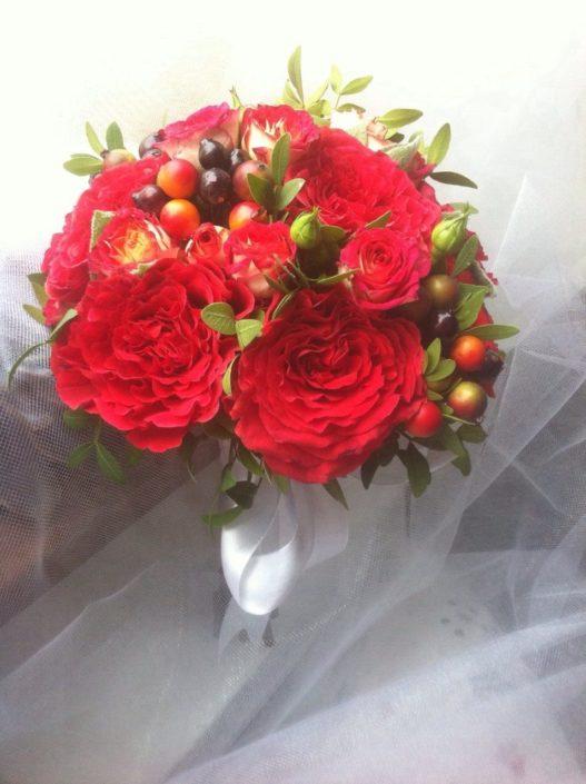 свадебный букет невесты 2018