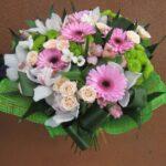 букет розовых гербер