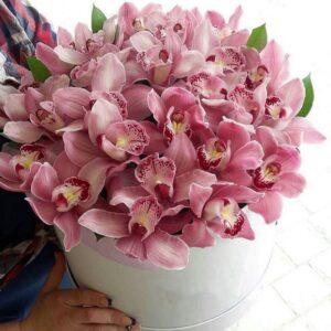 коробка цветов